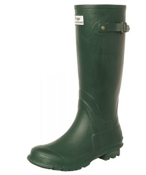 The Rantin Robin Hoggs of Fife Braemar Wellington Boots Green