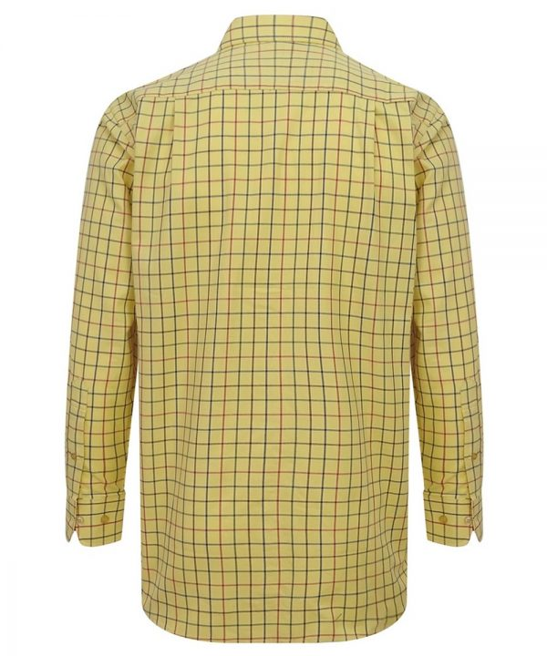 The Rantin Robin Governor Premier Tattersall Shirt Back View