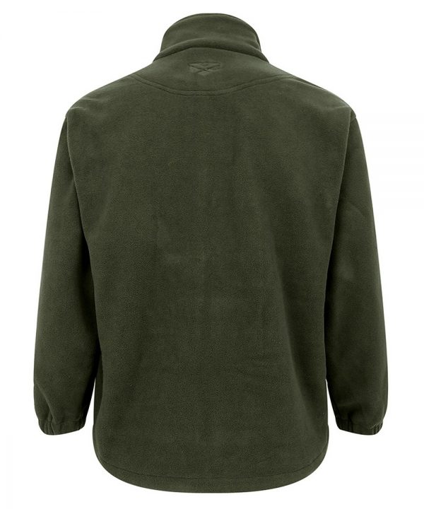 The Rantin Robin Hoggs of Fife Bute Fleece Jacket Back View
