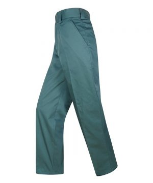 The Rantin Robin Hoggs of Fife Bushwhacker Pro Thermal Lined Trousers Spruce Colour