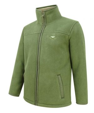 Hoggs of Fife Clydesdale Heavy Fleece Jacket Angled View