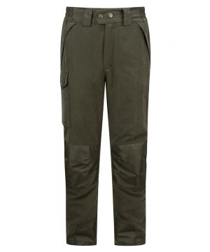 The Rantin Robin Hoggs of Fife Glenmore Waterproof Shooting Trousers Front View
