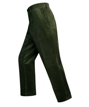 HoThe Rantin Robin Mens Heavyweight Cord Trousers Olive Colour