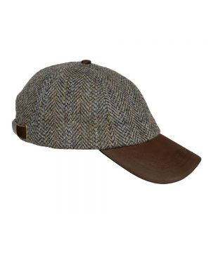 The Rantin Robin Hoggs of Fife Harris Tweed Baseball Cap