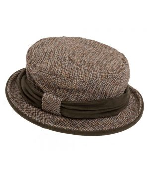 The Rantin Robin Hoggs of Fife Harris Tweed Ladies Hat
