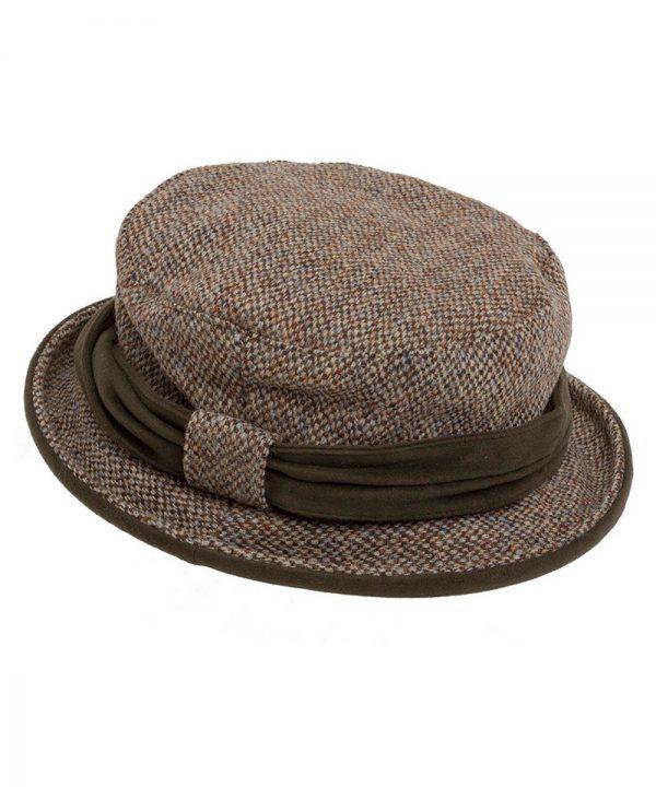 The Rantin Robin Hoggs of Fife Harris Tweed Ladies Hat