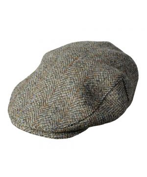 The Rantin Robin Hoggs of Fife Harris Tweed Cap