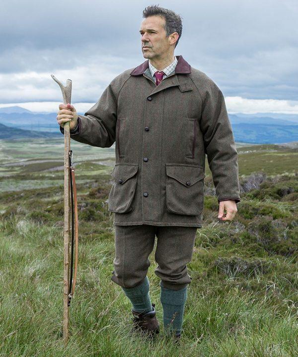 The Rantin Robin Harewood Lambswool Tweed Breeks Model