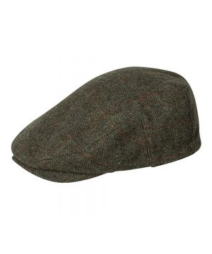 The Rantin Robin Harewood Lambswool Tweed Cap