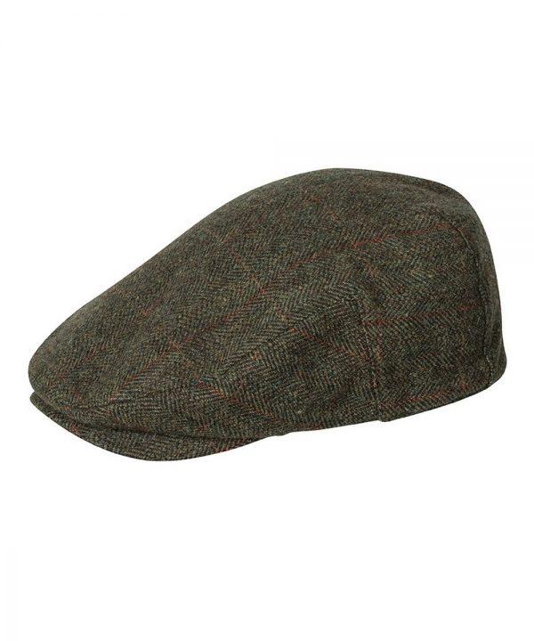 The Rantin Robin Harewood Lambswool Tweed Cap