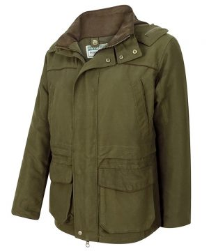The Rantin Robin Hoggs of Fife Kincraig Field Jacket Front View