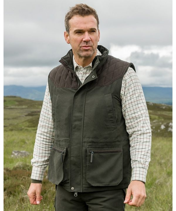 The Rantin Robin Hoggs of Fife Kincraig Field Waistcoat Model