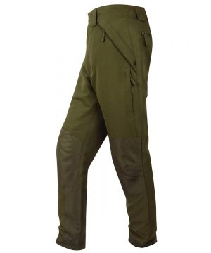 The Rantin Robin Hoggs of Fife Kincraig Field Trousers Olive Colour