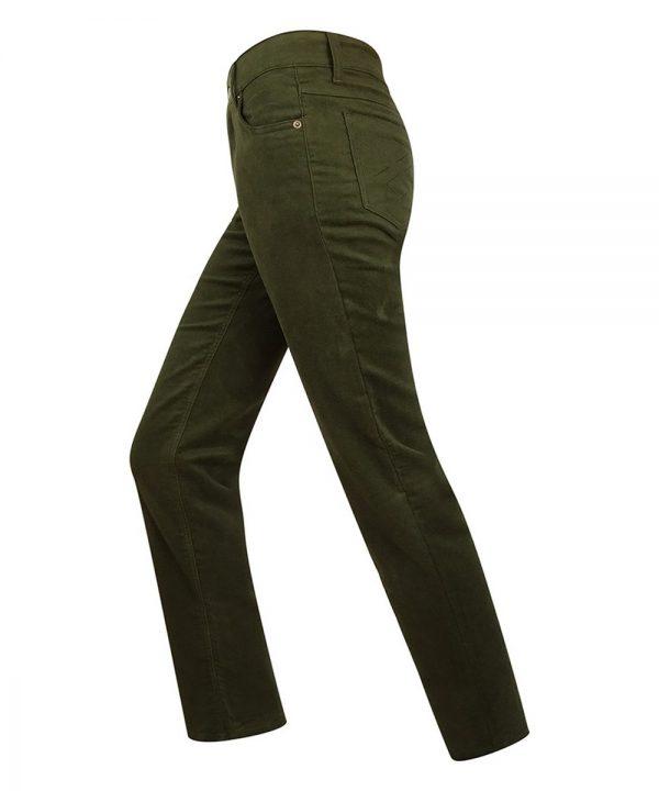 The Rantin Robin Hoggs of Fife Ladies Straight Leg Stretch Moleskin Jeans