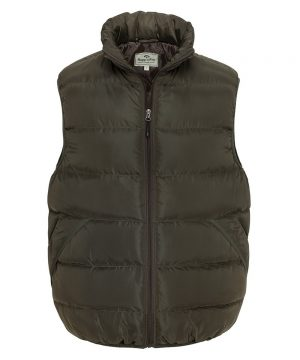 The Rantin Robin Hoggs of Fife Rover Quilted Gilet Front View