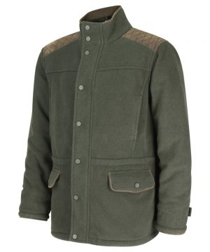 The Rantin Robin Sportsman II Waterproof Fleece Shooting Jacket Front View