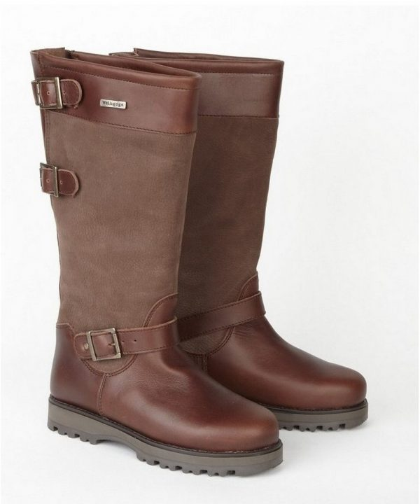 The Rantin Robin Welligogs Ranger Brown Leather Boots