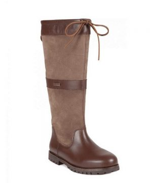 The Rantin Robin Welligogs Sloane Mocha Leather Boots