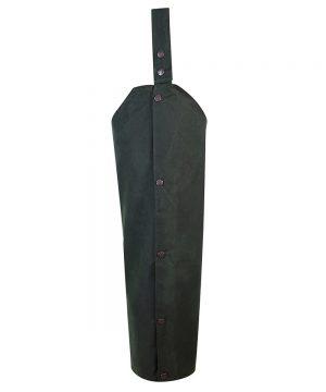 The Rantin Robin Hoggs of Fife Waxed Leggings Olive Colour
