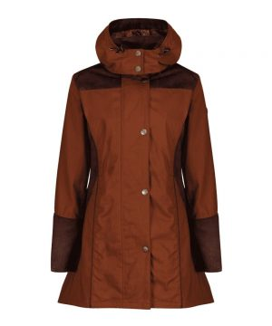 The Rantin Robin Welligogs Odette Cinnamon Waterproof Jacket