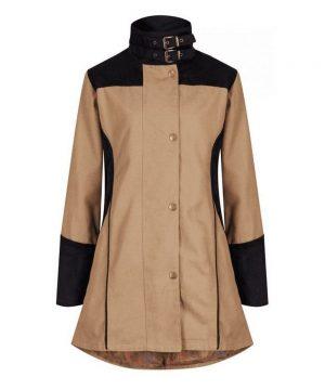 The Rantin Robin Welligogs Odette Tan Waterproof Jacket
