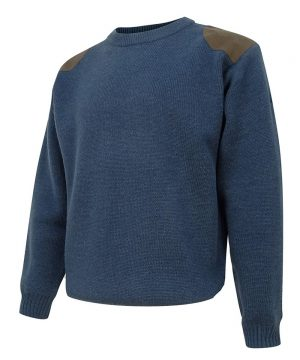 The Rantin Robin Melrose Hunting Pullover Navy Colour
