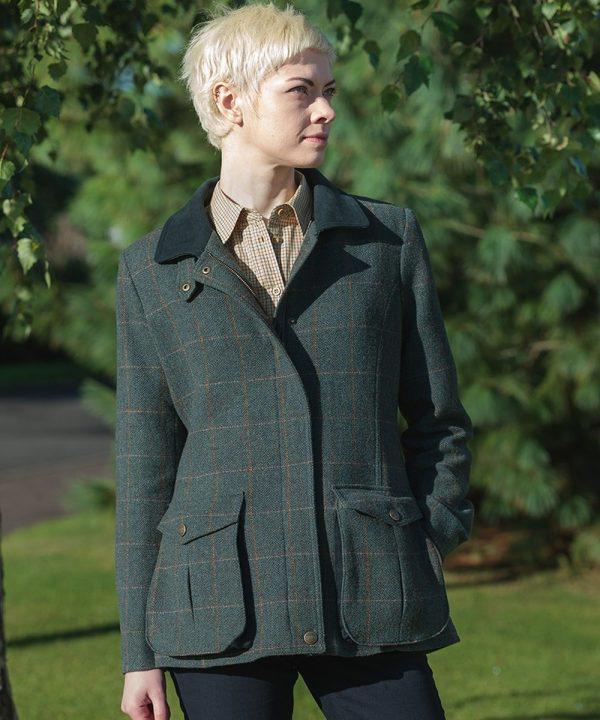 The Rantin Robin Hoggs of Fife Sherborne Ladies Field Coat Model