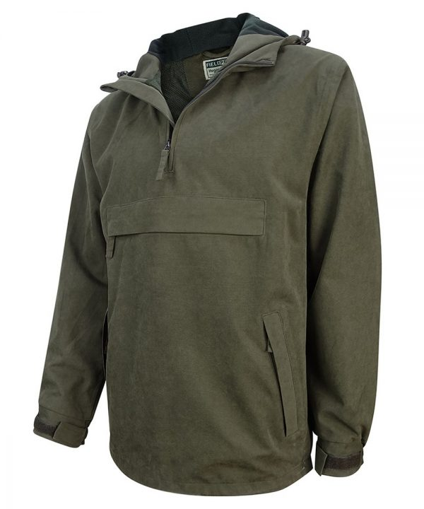 The Rantin Robin Struther Smock Field Jacket Angled View