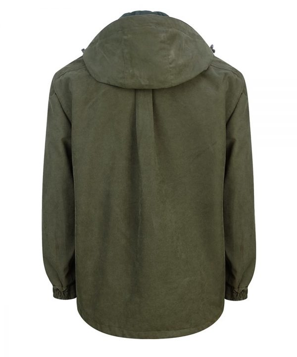 Hoggs of Fife Struther Smock Field Jacket Back View