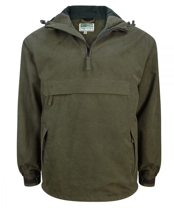 The Rantin Robin Hoggs of Fife Struther Smock Field Jacket Front View