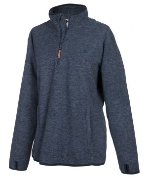 The Rantin Robin Hoggs of Fife Ladies Woburn Pullover Navy
