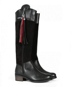 Welligogs Mayfair Black Leather Boots