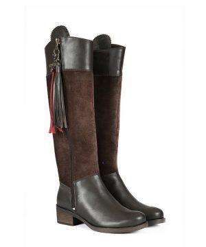 Welligogs Mayfair Chocolate Leather Boots