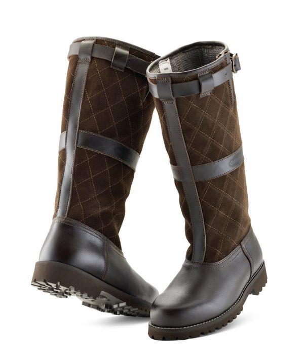 The Rantin Robin Grubs Duxbury Brown Leather Boots