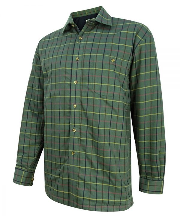 The Rantin Robin Hoggs of Fife Beech Micro Fleece Lined Shirt