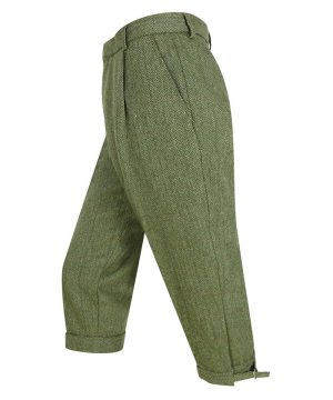 The Rantin Robin Helmsdale Tweed Breeks Angled View