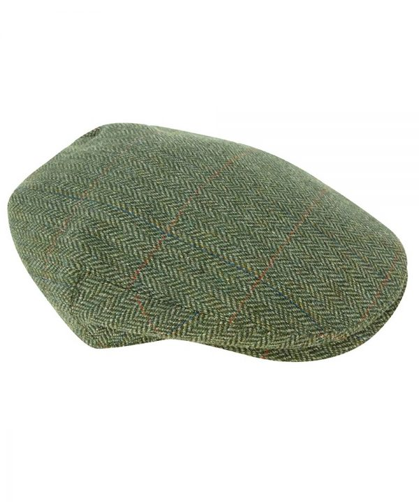 The Rantin Robin Helmsdale Waterproof Tweed Cap
