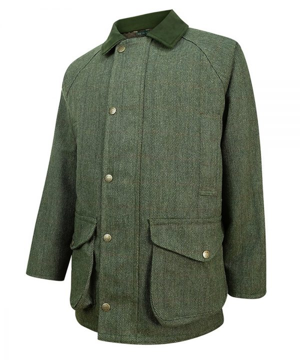The Rantin Robin Helmsdale Tweed Jacket Angled View