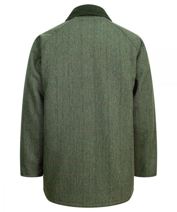 The Rantin Robin Helmsdale Tweed Jacket Back View