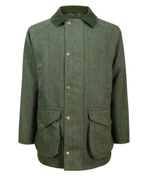 The Rantin Robin Helmsdale Tweed Jacket Front View