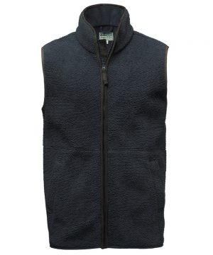 The Rantin Robin Hoggs of Fife Cambridge Tufted Fleece Gilet