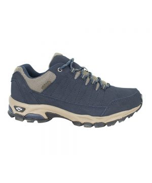 The Rantin Robin Cairn Waterproof Hiking Shoes Navy Colour