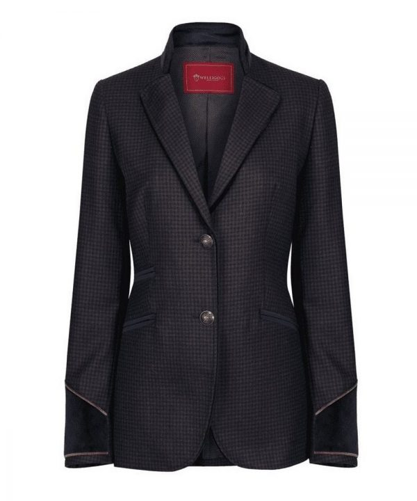 The Rantin Robin Welligogs Chelsea Ladies Tweed Jacket