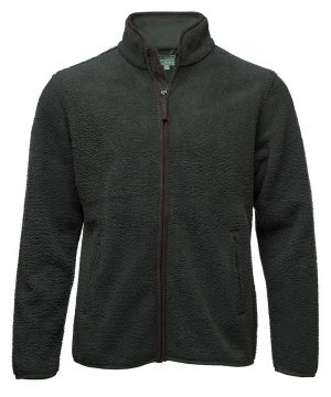 The Rantin Robin Hoggs of Fife Cambridge Mens Tufted Fleece Jacket