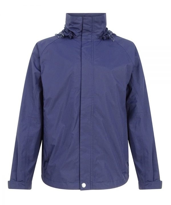 The Rantin Robin Hoggs of Fife Cheviot Waterproof Jacket Front View
