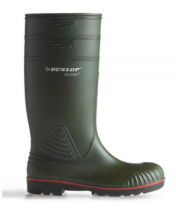 The Rantin Robin Dunlop Acifort Heavy Duty Full Safety Wellington
