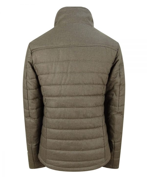 The Rantin Robin Hoggs of Fife Elgin Ladies Quilted Jacket Back View