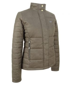 The Rantin Robin Hoggs of Fife Elgin Ladies Quilted Jacket
