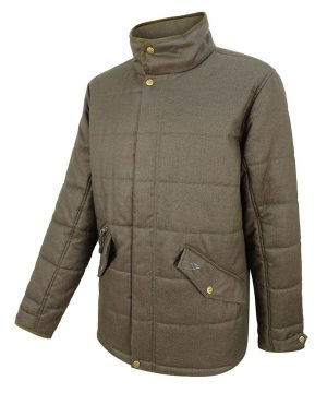 The Rantin Robin Hoggs of Fife Elgin Mens Quilted Jacket