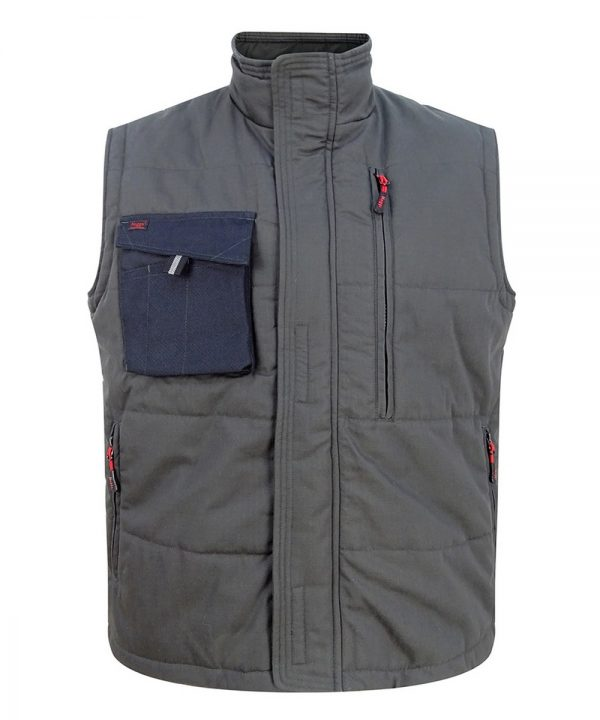 The Rantin Robin Hoggs of Fife Granite Active Gilet Front